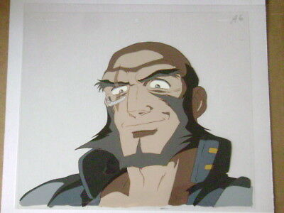 Cowboy Bebop Jet Anime Production Cel 9