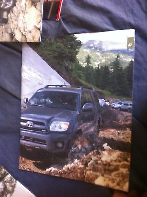 2007 Toyota 4Runner SUV USA Market Color Catalog Brochure Prospekt