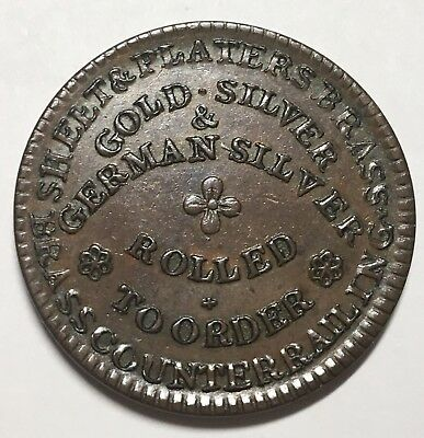 James G. Moffett New York, NY Metal Products Hard Time Token