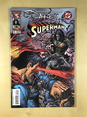 The Darkness Superman Comic Issue #2 (TOPCOW, Image, 2005)