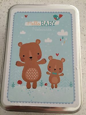 Pepper Pot Baby Boy Note Cards