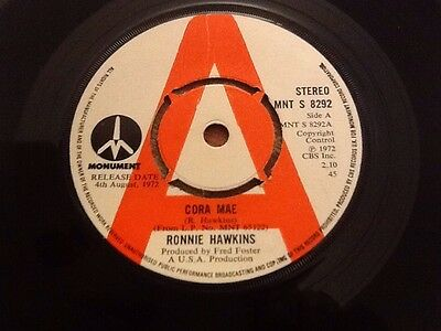Ronnie Hawkins Single