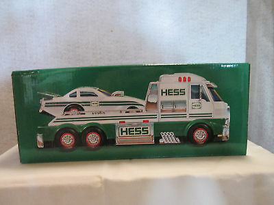 Hess Toy Truck and Dragster 2016 Collectible Toy NEW IN Box Priority Shipping