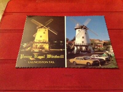 Postcard Penny Royal Windmill, Launceston, Tasmania