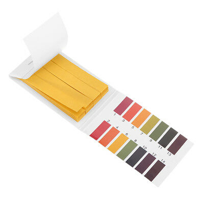 PH 1-14 Test Paper Litmus Strips PH Universal Indicator Paper with Color Chart