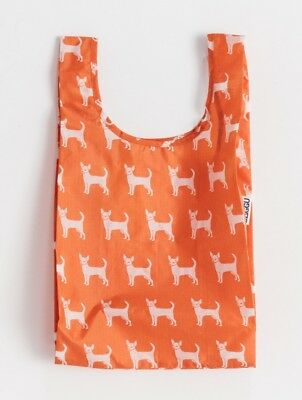 Baggu Baby Small Reusable Shopping Bag Tote Eco Friendly Chihuahua