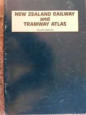 New Zealand Railway/Tramway Atlas 4th edition