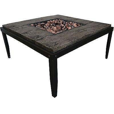Bond 67938 Tiburon Stainless Steel Table Fire Pit
