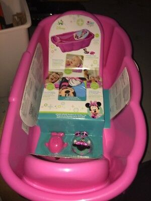 The First Years Disney Baby Newborn to Toddler Tub, Minnie Mouse(isl2)