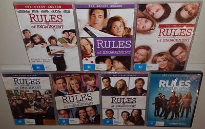 Of RULES OF ENGAGEMENT COMPLETE SEASONS 1 2 3 4 5 6 & 7 BRAND NEW SEALED R4 DVD
