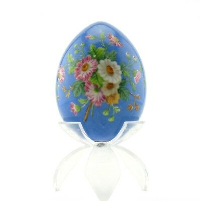 Antique Russian porcelain Easter egg, circa 1900