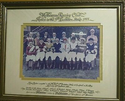 Rare 1955 Invitation Stks Jockey's Photo