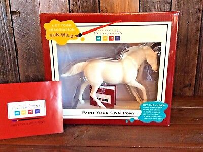 The Trail of Painted Ponies Paint Your Own Pony NEW RETIRED #12214