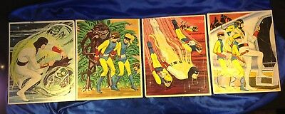 Space Ghost Jigsaw Puzzle Lot 1967 NR Hannah-Barbera Whitman