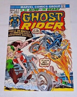 Ghost Rider 1st Series Issues 3-5. Ghost Rider Comic Lot. VF-NM Condition.