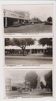Vintage collectable post cards Nhill Vic