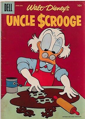 Walt Disney's Uncle Scrooge #14 1956 Silver Age Dell Comics Us Import
