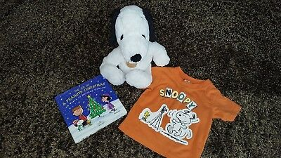 Peanuts Snoopy Plush Stuffed Animal Toy Hallmark The Joy Of A