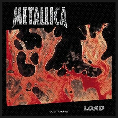 Metallica Load Patch Official Metal Rock Band Merch New