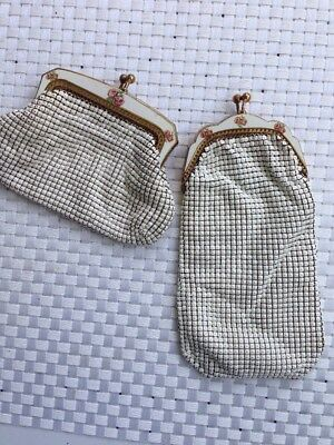 Oroton Vintage Mesh Purse And Spectacle Case