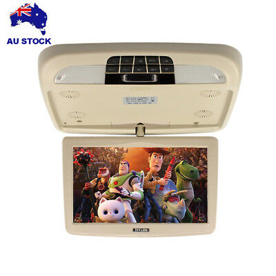 9 Inch Car Ceilling Flip Down Monitor Overhead Roof Mounted TFT LCD Monitors AU