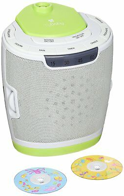 myBaby Soundspa Lullaby Sound Machine and Projector, Auto-Off Timer, Includes 6