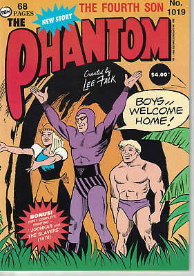 Phantom Comic # 1019 from 1992.