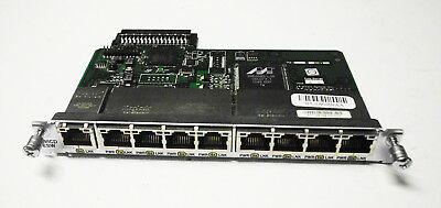 Cisco HWIC-D-9ESW 9 Port FE Switch Module D9ESW