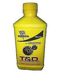 T & D SYNTHETIC OIL 75W90 olio trasmissione e differenziale sintetico oil polar