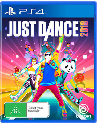 Just Dance 2018 PS4 Playstation 4 Game Ubisoft Brand New In Stock From Brisbane