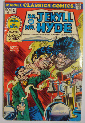 1976 Marvel Classics Comics  # 1 Dr. Jekyll And Mr. Hyde