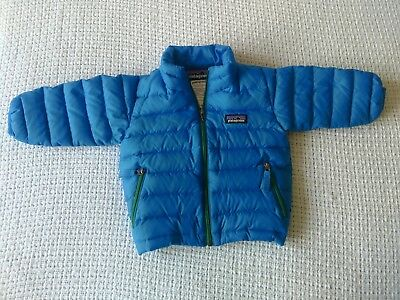 Patagonia Baby Down Sweater Blue 3-6M
