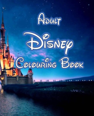 Adult Disney Colouring Book