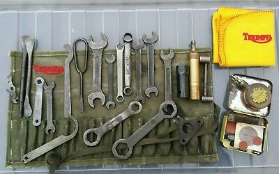 Classic Triumph Motorcycle Vintage Tools Toolkit For Tiger T100 T110 T120 6T 3T