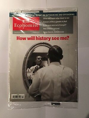 The Economist Magazine Obama - January 19th-25th 2013 - How will history see me?