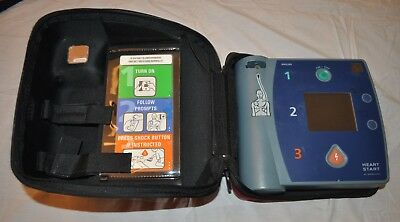 Philips HeartStart AED FR2+ & Red Hard Carrying Case