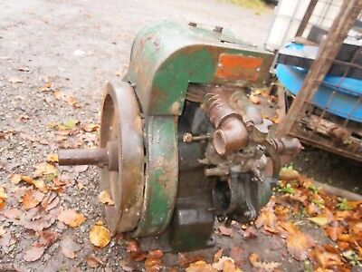 Petter A1 Single Cylinder Petrol Stationary Engine - Handle no Mag