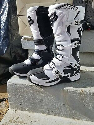 Fox Racing Comp 5 2016 Mens MX Offroad Boots White