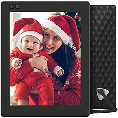 Seed Digital Picture Frames Inch WiFi Photo Black