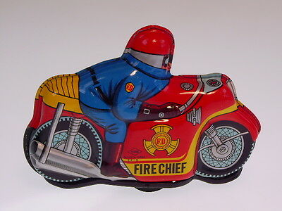 "GSMOTO  ""FIRE CHIEF"" YONE aus Japan, 12cm, WIND UP OK, NEU/NEW/NEUF  !!"