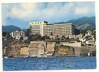 Old Postcard (1970) - Savoy Hotel. Funchal - Madeira - Posted 0375
