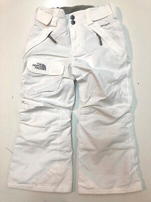 The North Face Girls Unisex Hyvent Insulated Winter Ski Snow Pants White Size 6