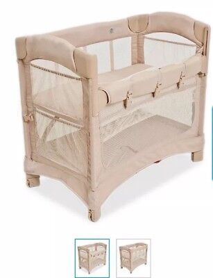 Arm's Reach Mini Co-Sleeper Bassinet - Natural + 1 organic cotton cover