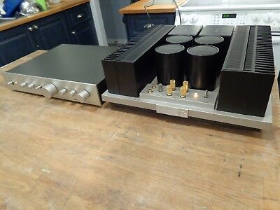1 Class Ab Serie-20 Pioneer C21 Preamp M25 Amplifier Spec 2 4 V Perf Condition