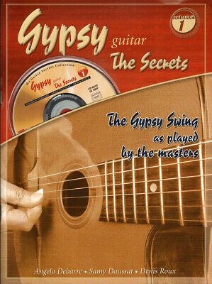 The Secrets of Gypsy Jazz Guitar Volume 1 Gitarre Noten Tab CD