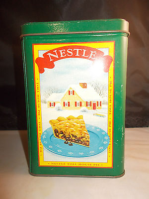 Vintage Nestle Toll House Cookie Tin Limited Edition Seasons