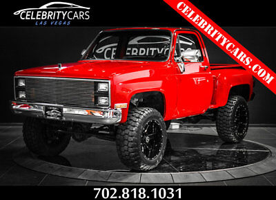 1978 Chevrolet C/K Pickup 1500 4x4 lifted fully restored 1978 Chevrolet K10 4x4 Truck fully restored and lifted LAS VEGAS