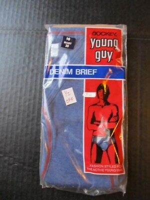 Vintage 70s Jockey Young Guy briefs, youth 16 never worn