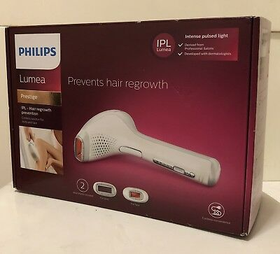 Philips Lumea SC2007/00 Prestige IPL Hair Removal Device for Body and Face New