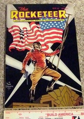 The Rocketeer Official Movie Adaptation (W.D. Publications INC.) Dave Stevens